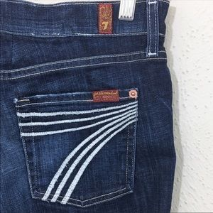 7 for all Mankind Dojo Jeans Size 26 Altered